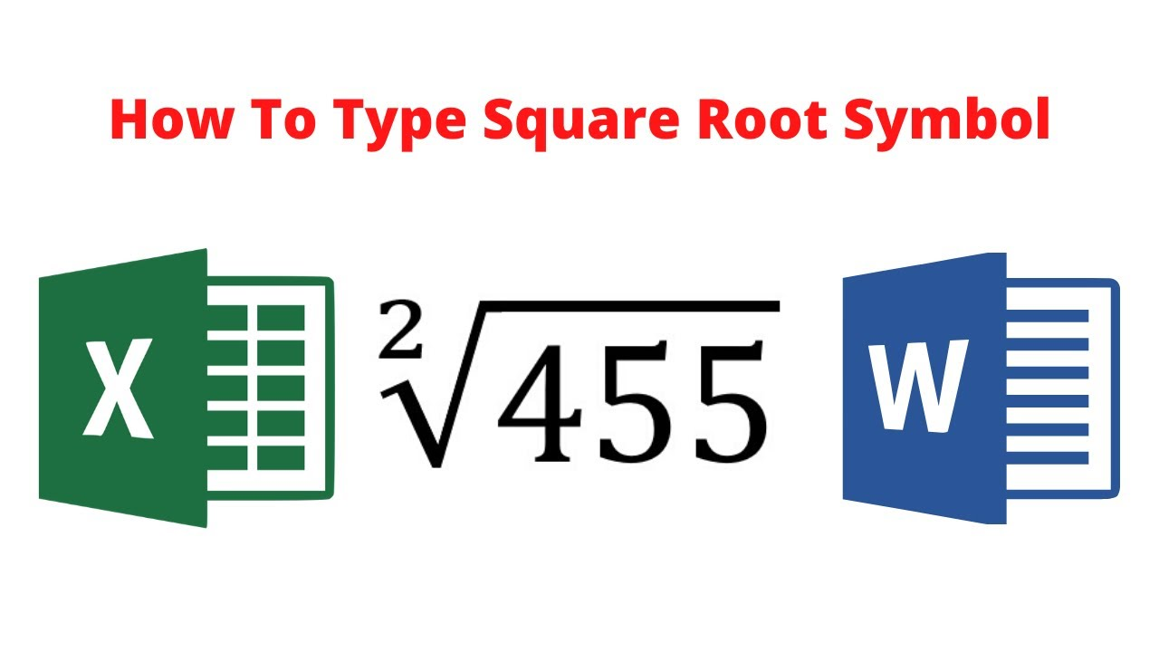 10 ways to insert square root symbol (√ ) in Word (on Keyboard