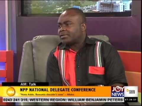 Bulk oil distribution - Am talk on Joynews (10-4-14)