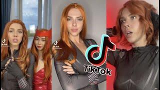 RUSSIAN BLACK WIDOW IS BACK     TikTok girls   TikTok Trend 2021