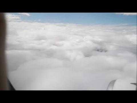 Рейс YC09, авиаконпания ЯМАЛ. Посадка в Тюмени.
