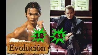 Como Tony Jaa ha cambiado  - Evolución de 18 a 41 años.