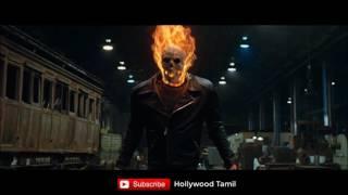 [தமிழ்] Ghost rider Transformation from human to Gost Rider scene in Tamil | Super Scene | HD 720p