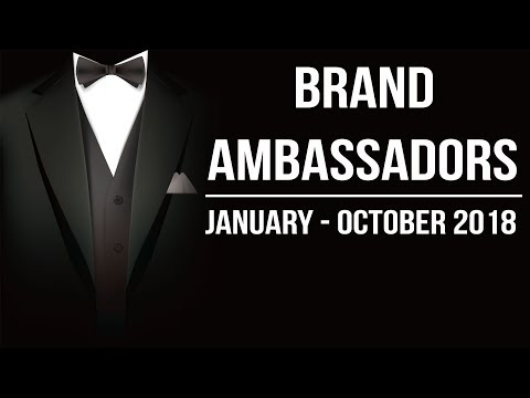 Brand Ambassadors 2018 complete analysis - January to October 2018 Current Affairs Mp3
