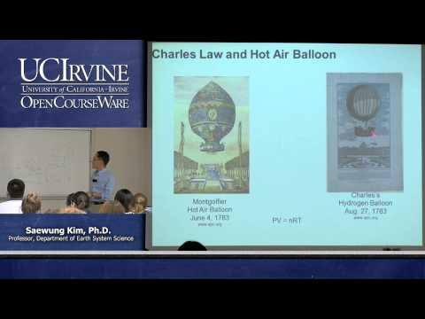 Earth System Science 23. Air Pollution. Lecture 3. Understanding of Temperature and Pressure
