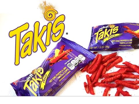 Mini Takis Hot Chilli Pepper Lime Tortilla Chips Made In Mexico