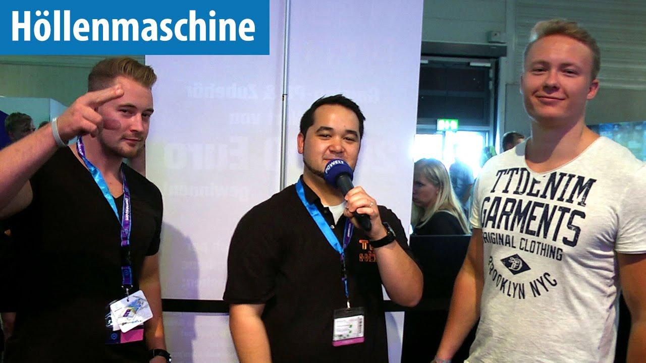 Lusor koeffizient  Höllenmaschine UVR: Mit Lusor Koeffizient auf der Gamescom 2016 ...