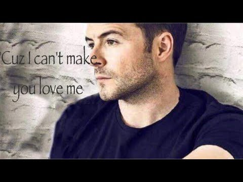 Shane Filan  I Cant Make You Love Me