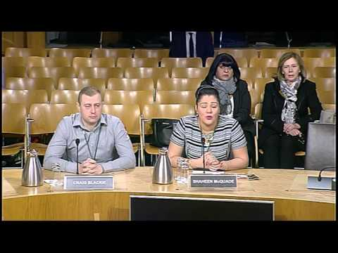 Public Petitions Committee - Scottish Parliament: 12th January 2016