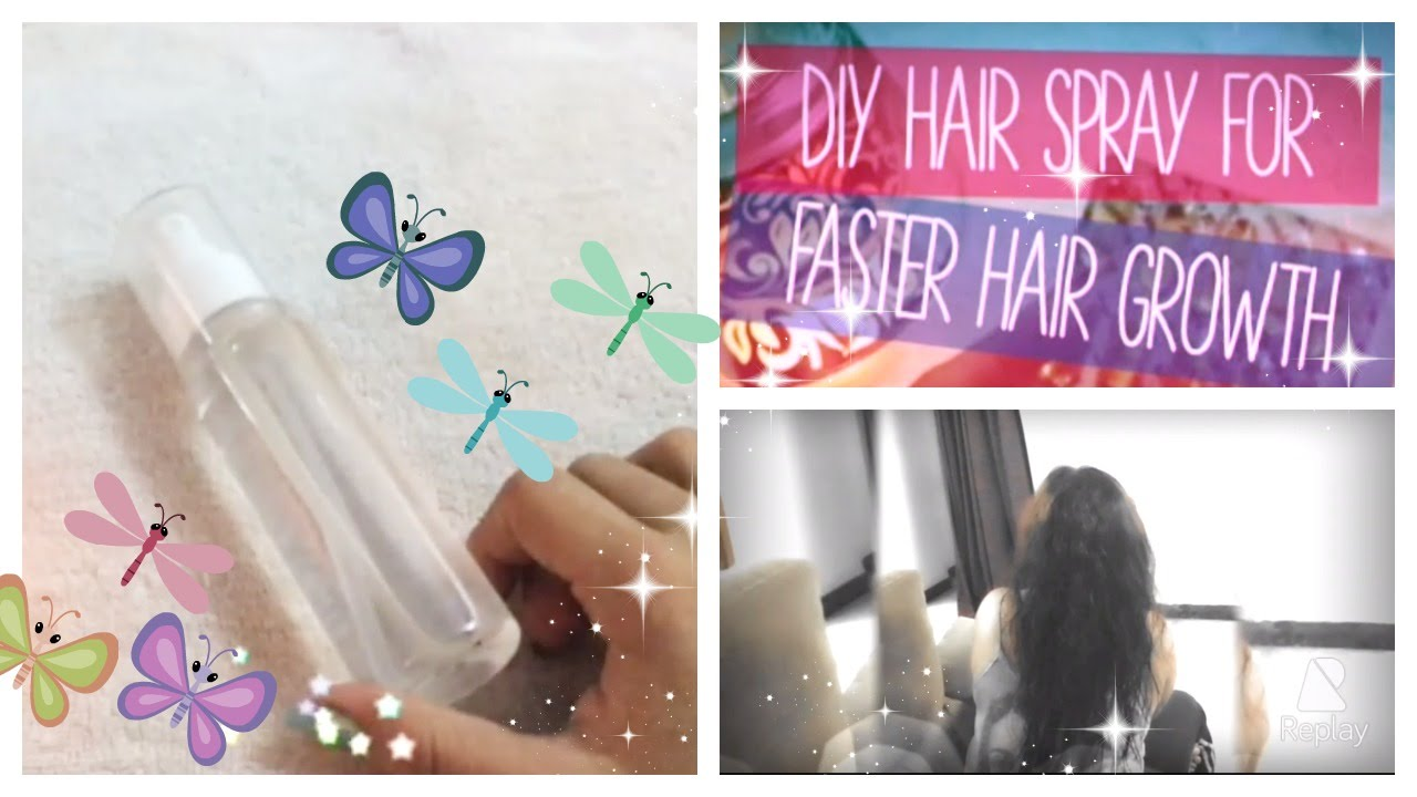 Dimple D Souza Diy Hair Spray For Faster Hair Growth For