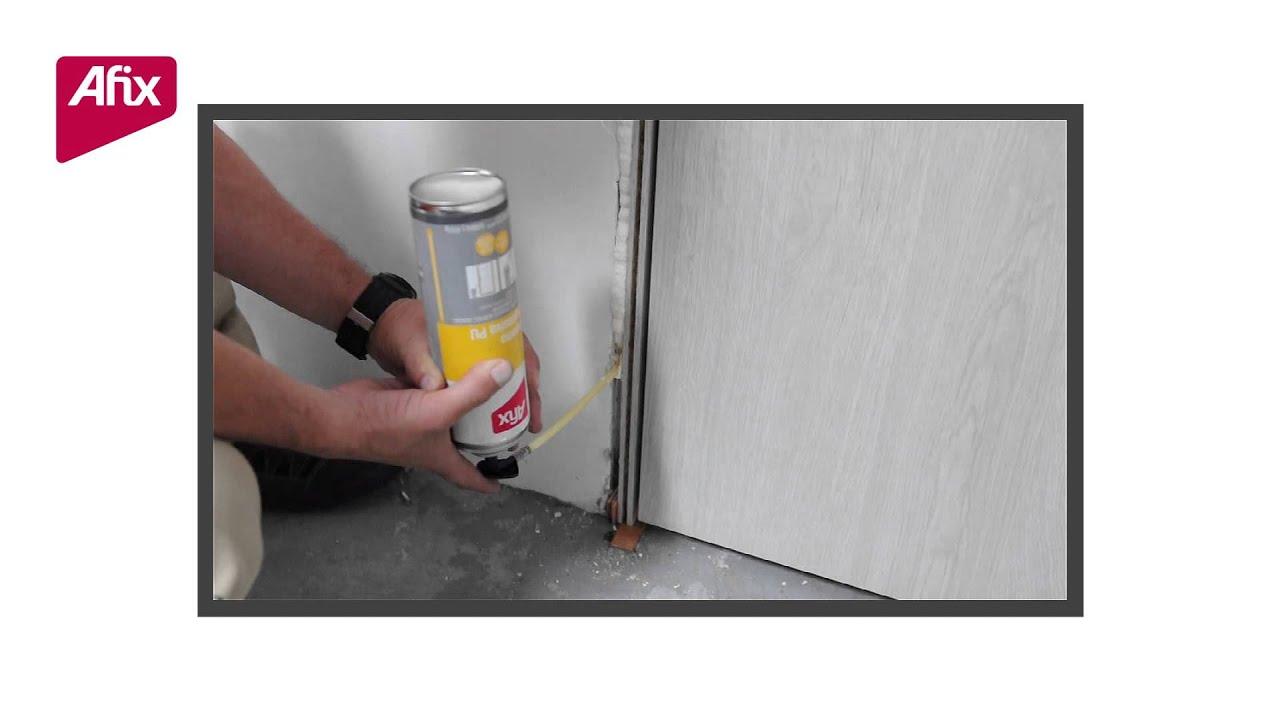 AFIX espuma de poliuretano para instalar marcos sin necesidad de ...