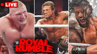 🔴LIVE - WWE Royal Rumble 2021 | Winners, Returns & Results Discussion | 30 Man Royal Rumble Match