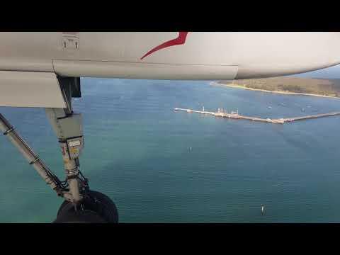 4K QANTAS Link Landing Sydney Dash 8 Q400