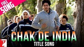 Chak De India - Title Song | Shah Rukh Khan | Sukhvinder Singh | Salim | Marianne D