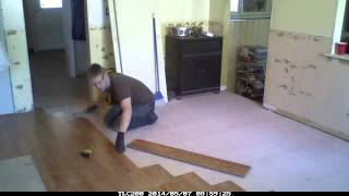 Kitchen Remodeling Time Lapse Video