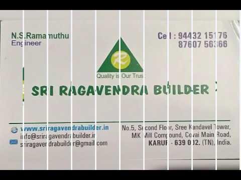 Sri Ragavendra builder - civil projects