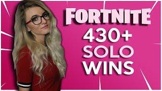 Fortnite Battle Royale - ROAD TO 500 SOLO WINS! 417 SOLO WINS. 5000+ KILLS. MAX TIER PLAYER!