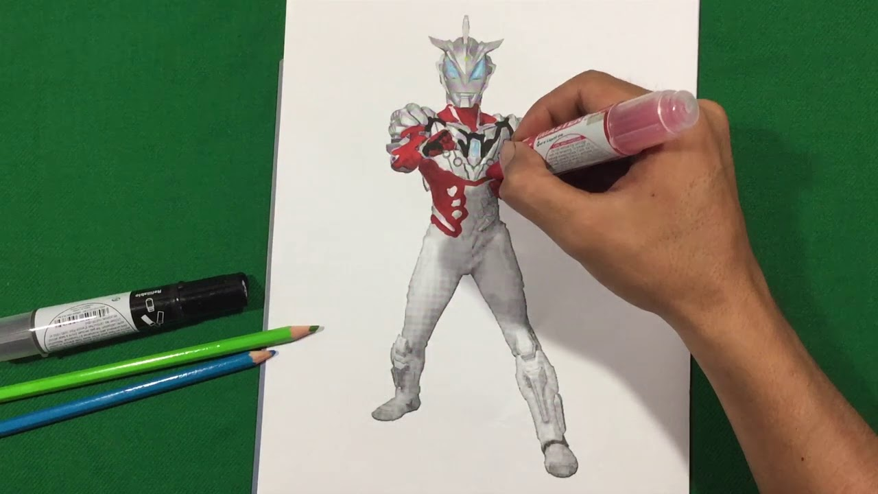 ULTRAMAN GEED SOLID BURNING 2 Coloring Pages SAILANY Coloring Kids