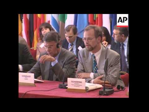 France - European Socialist Leaders Meet