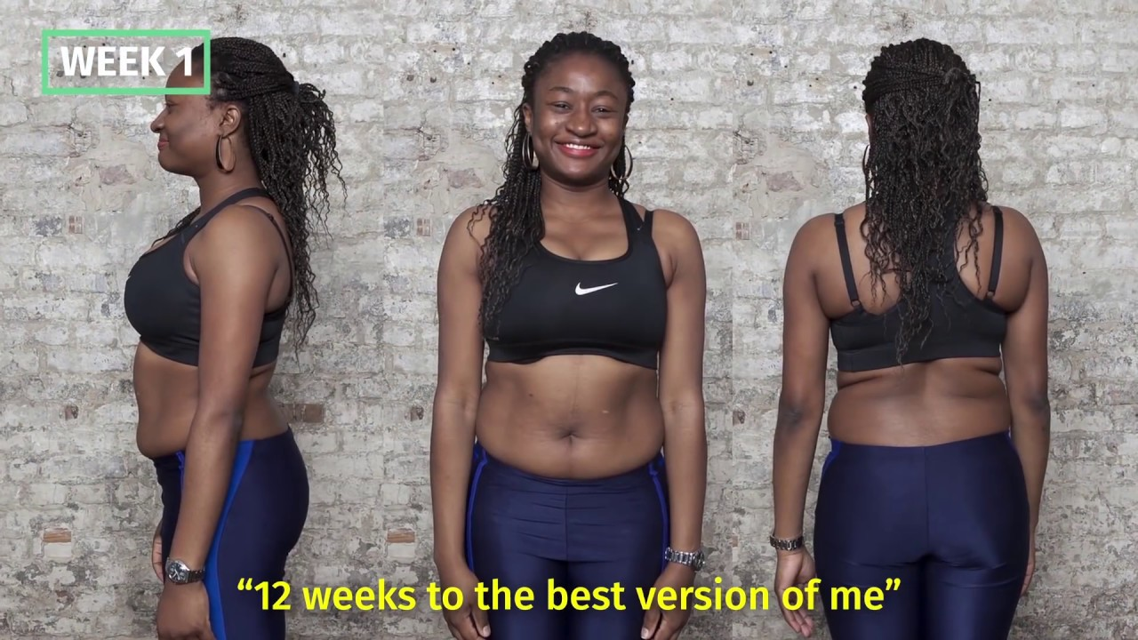 Catherine S 12 Week Transformation With 8fit Youtube