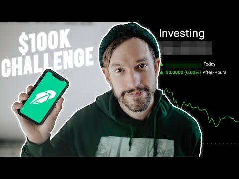Trading Stocks to $100k – Robinhood Challenge!