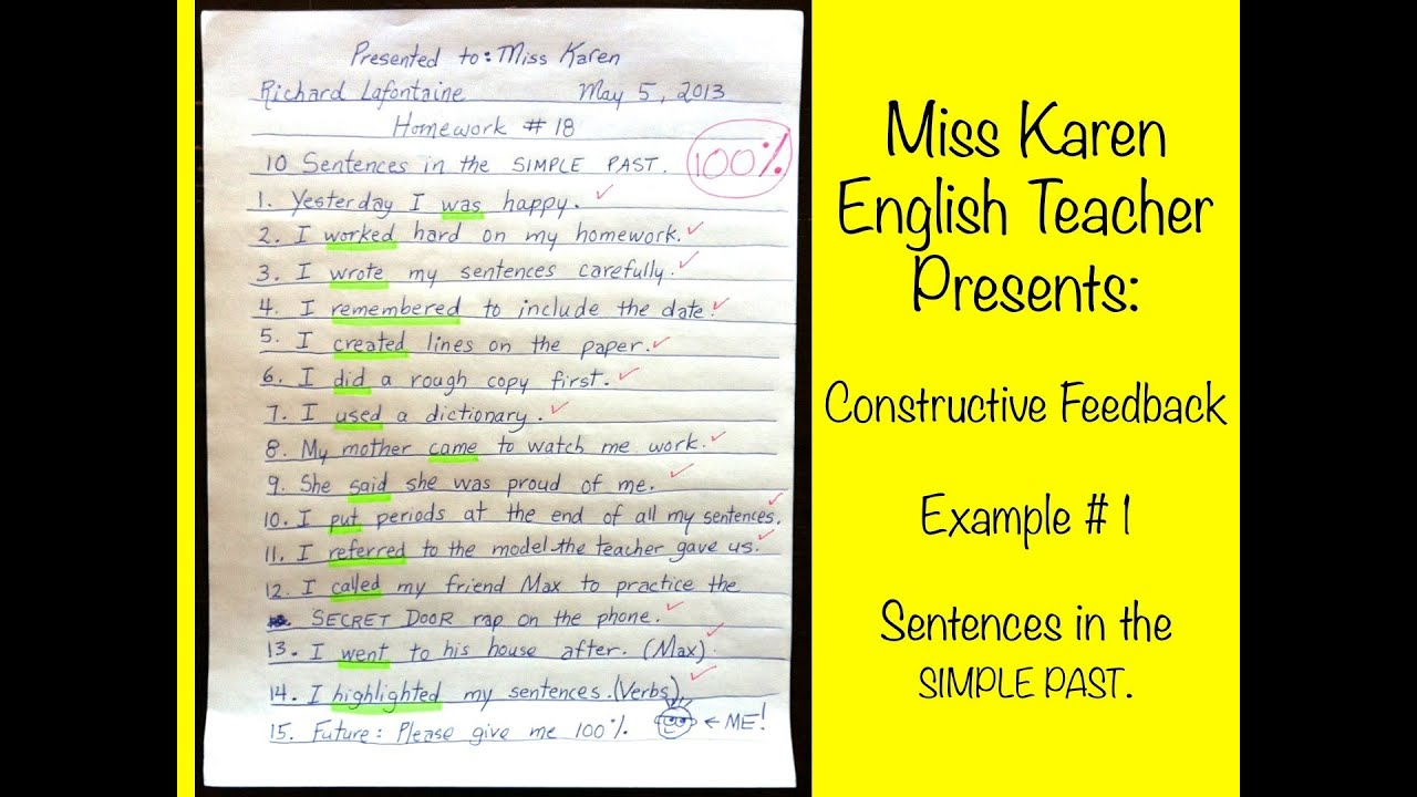 constructive essay comments Marking essays and short answer questions providing feedback leaving comments on student essays can require a complex balancing act taking the time to.