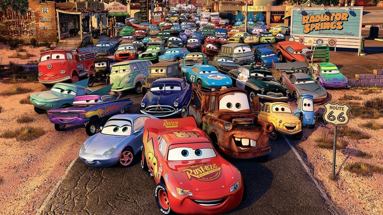 Disney PIXAR Cars All Characters Revealed #2 - YouTube