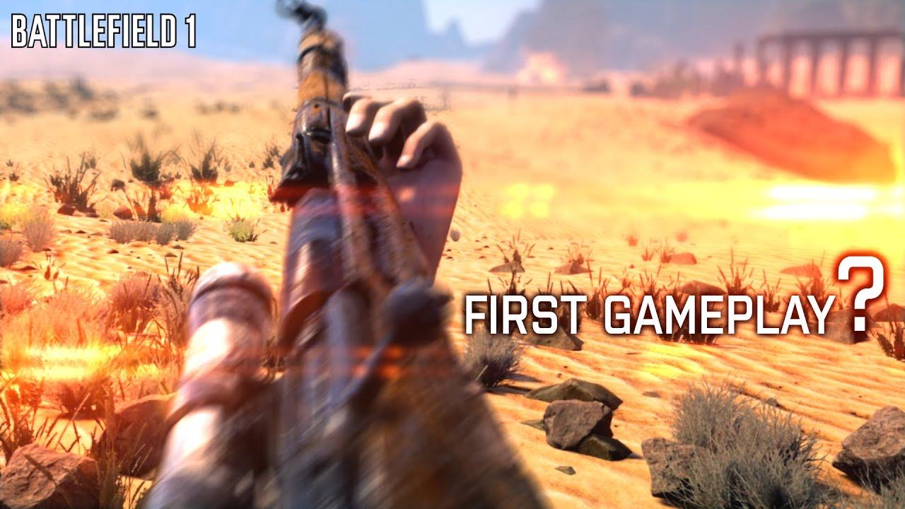 battlefield 1 gameplay trailer youtube