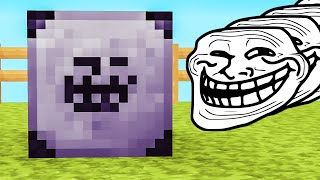 Minecraft LUCKY BLOCK - TROLL BLOCKS
