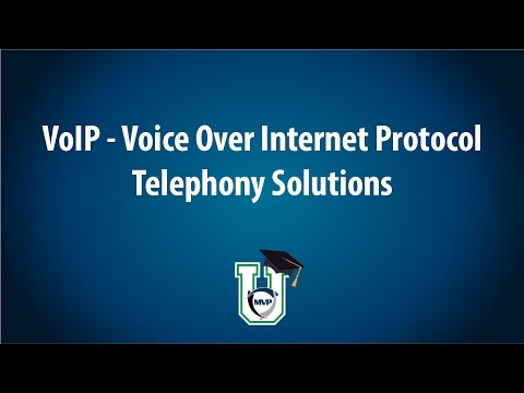 VoIP - Voice Over Internet Protocol Telephony Solutions