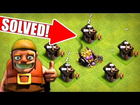 SOLVING THE MYSTERY TO THE BUILDERS HUT!! - Clash Of Clans