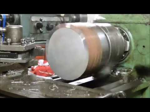 Making wheel hubs on my 1I611P lathe -Part 1-
