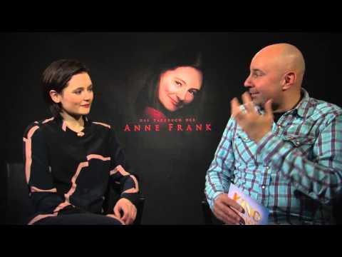 Lea van Acken Interview DAS TAGEBUCH DER ANNE FRANK  +  KREUZWEG