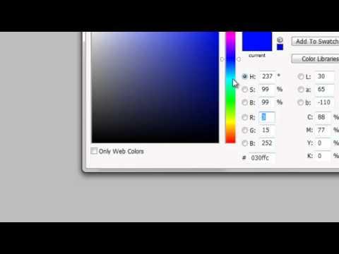 การทำนามบัตร ด้วย Adobe Photoshop CS5