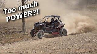 Turbo swapped RZR RS1 hits the track for a LAP BATTLE! It's INSANE!
