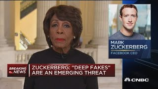 Have to keep working on our concerns about libra and Facebook: Rep. Waters