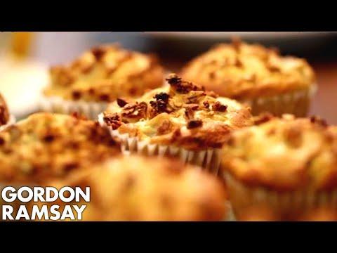 Pear & Crunchy Granola Muffins By Gordon Ramsay