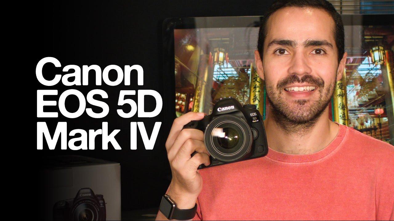 Ver Canon EOS 5D Mark IV en Español