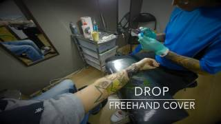 Drop freehand
