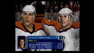 NHL 2001 (PS2): The Floater Shot