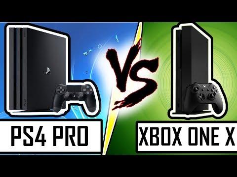 DUEL DE CONSOLES : PS4 PRO VS XBOX ONE X