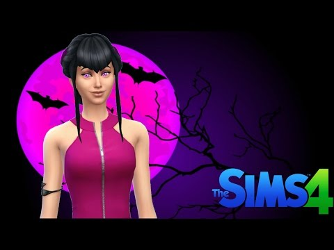 The Sims 4 - DRACULAURA VAMPIRA APRENDIZ