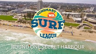 Sunsmart WA Surf League Round One - Secret Harbour