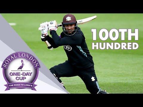 Royal London Rewind: Kumar Sangakkara's 100th Hundred -  Highlights