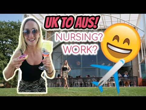 UK To Melbourne! Moving To Australia & Nursing Update.