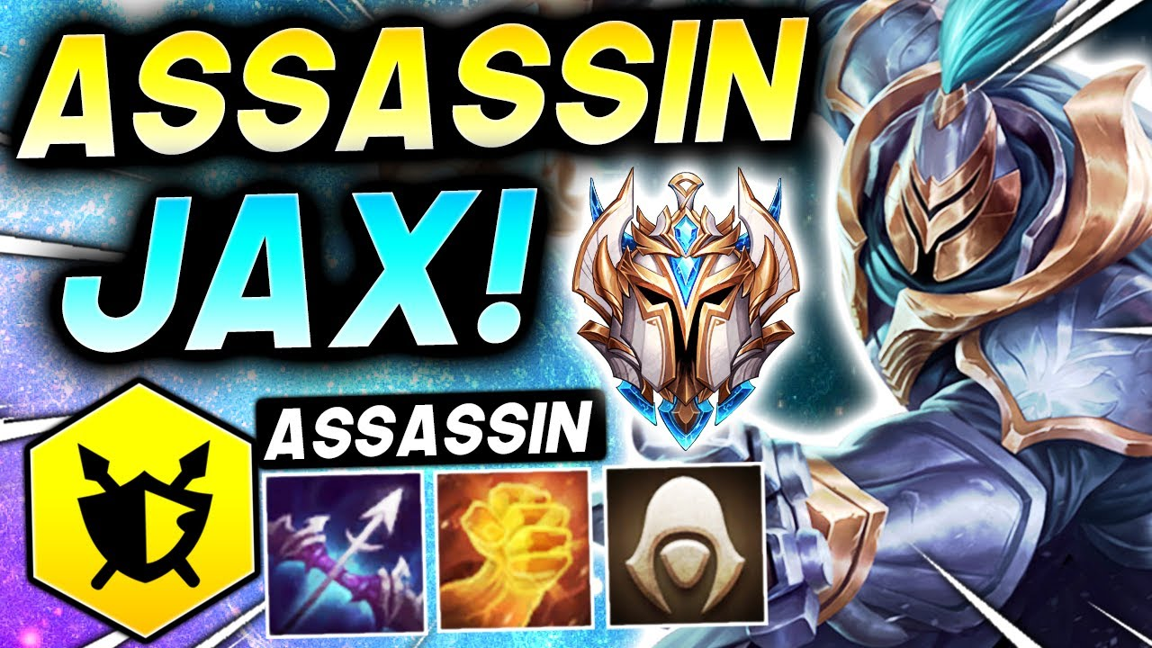 Download *ASSASSIN JAX in CHALLENGER!* - TFT SET 5.5 Guide Teamfight Tactics Best Ranked Comps 11.18 Strategy