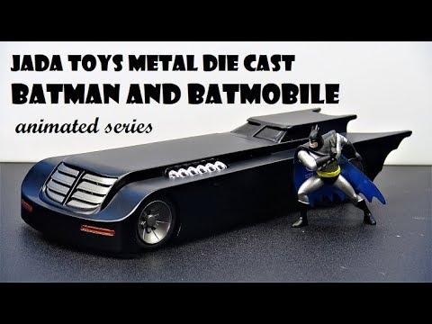 JADA TOYS METAL ANIMATED SERIES BATMAN AND BATMOBILE Die Cast review