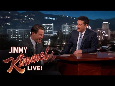 Channing Tatum & Jimmy Kimmel on Their Baby Girls video