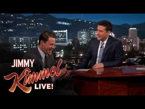 Channing Tatum & Jimmy Kimmel on Their Baby Girls