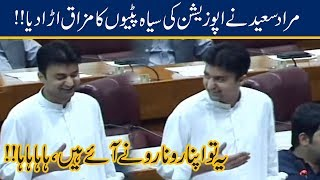 Murad Saeed Makes Fun Of Opposition On Black Armbands