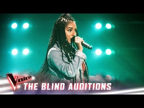 The Blind Auditions: Elsa Clement sings 'Lose Yourself' | The Voice Australia 2019